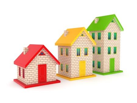 Real estate concept Stock Photo - 18196907