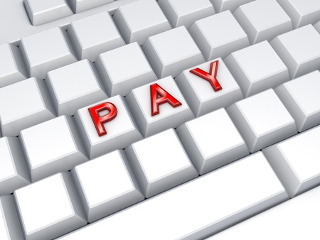 word pay on keyboard stock photo picture and royalty free image