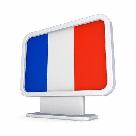 lightbox: Lightbox with flag of France