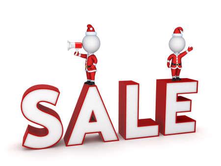 Christmas sale concept  Stock Photo - 18443654