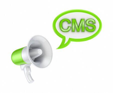 speaking trumpet: CMS concept