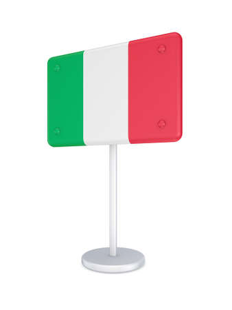 bunner: Bunner with flag of Italy
