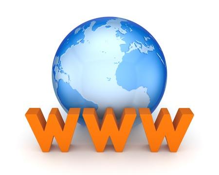 WWW concept Stock Photo - 18564829