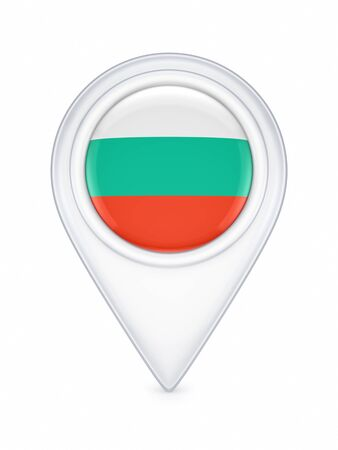 Icon with bulgarian flag  photo