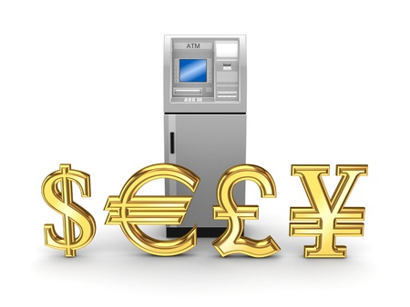 ATM concept  Stock Photo - 18615152