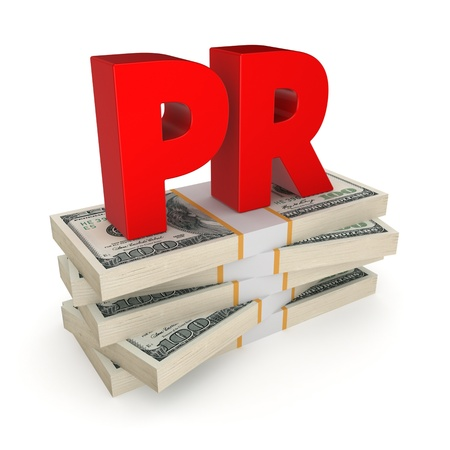 PR concept  photo