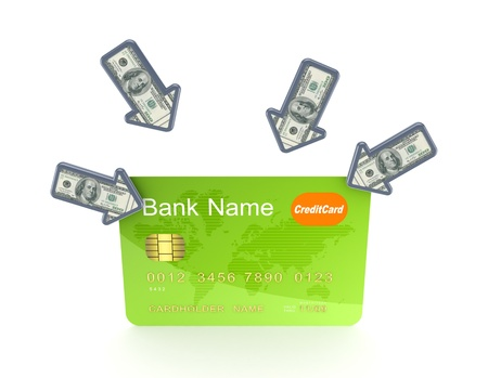 Credit card  Stock Photo - 18615417