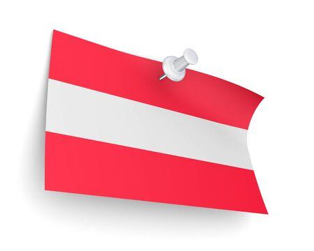 austrian: Austrian flag