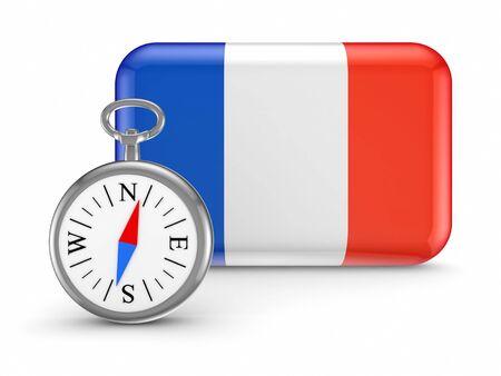French flag Stock Photo - 18686683