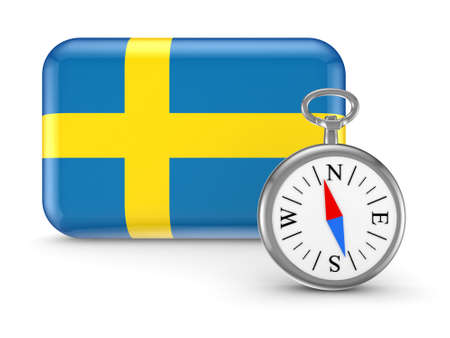 Flag of Sweden  Stock Photo - 18686684