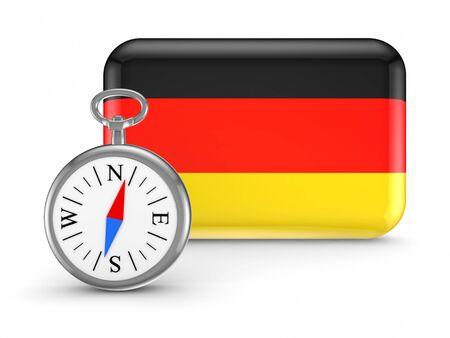 German flag Stock Photo - 18686753