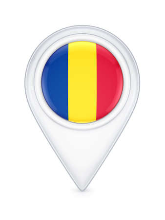 romanian: Icon with romanian flag