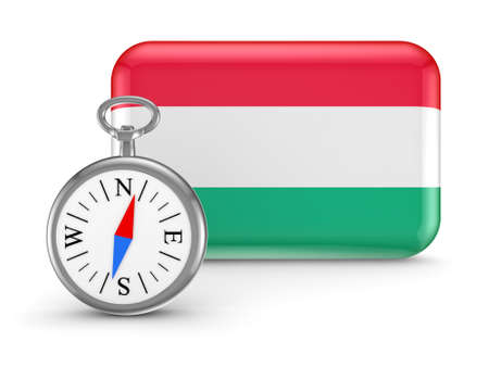 Hungarian flag Stock Photo - 18743226