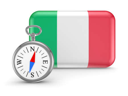 Italian flag Stock Photo - 18743694