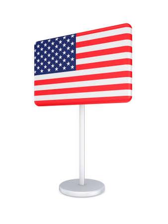 bunner: Bunner with flag of USA