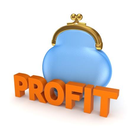 passive earnings: Profit concept