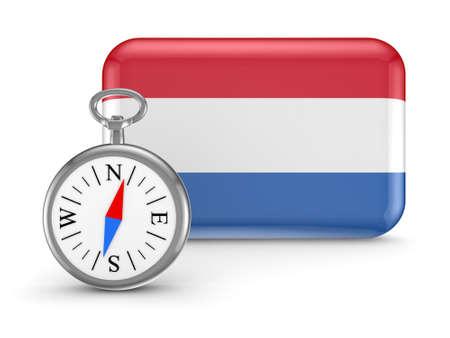 Dutch flag Stock Photo - 18743697
