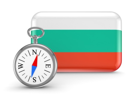 Bulgarian flag Stock Photo - 18743689