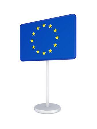 bunner: Bunner with flag of EU