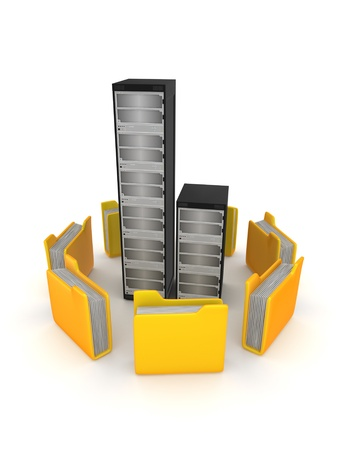 Server concept  photo