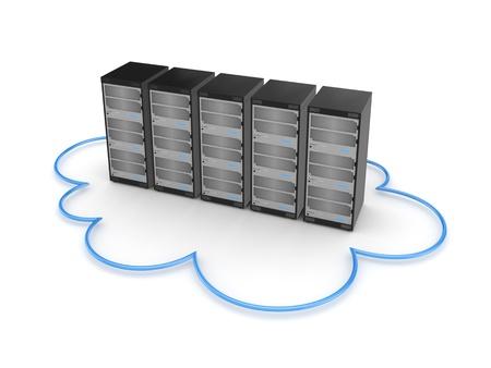 Server concept  写真素材