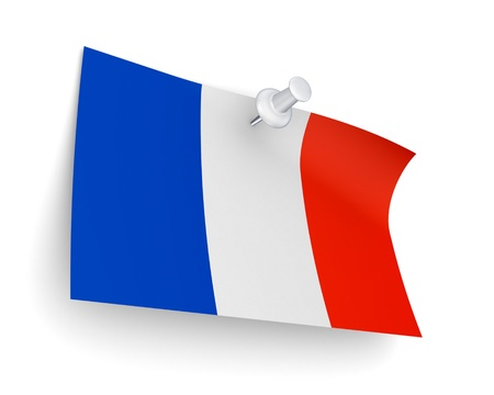 French flag  Stock Photo - 19539218