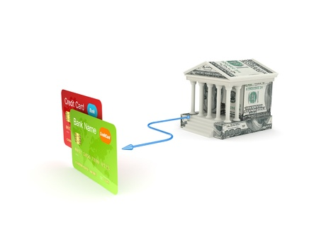 Banking concept Stock Photo - 19539216