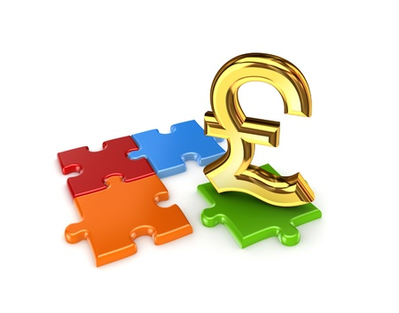pound sterling: Puzzles and symbol of Pound Sterling