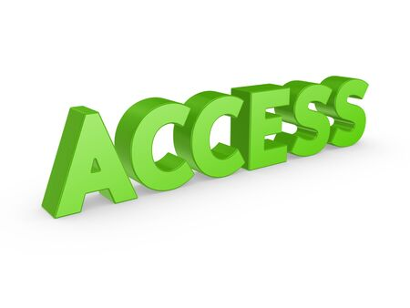 Word ACCESS  photo