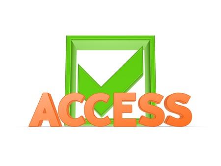 Access concept  photo