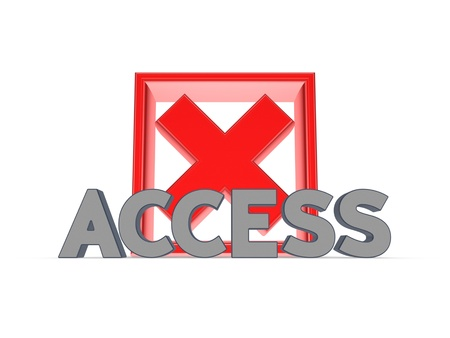 Access concept  Stock Photo - 20208836