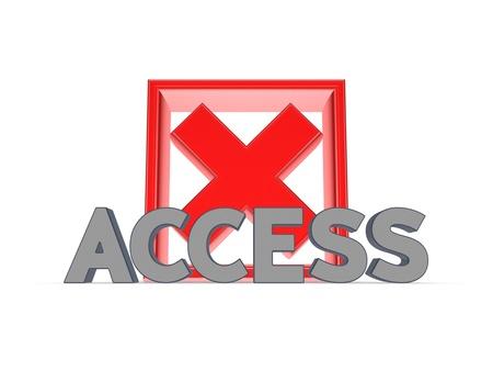 Access concept Stock Photo - 20208836