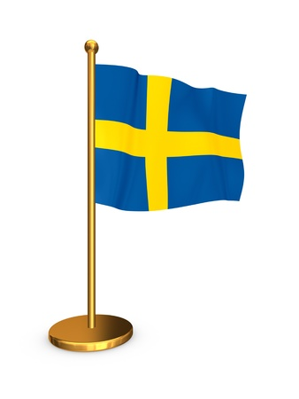 Flag of Sweden  photo