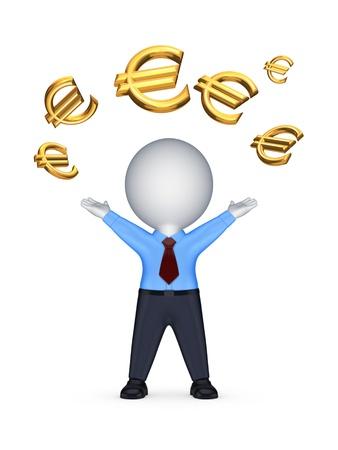 Financial success concept
