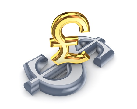 pound sterling: Dollar and pound sterling
