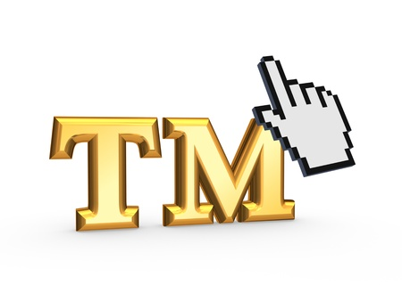 tm: Cursor and TM symbol