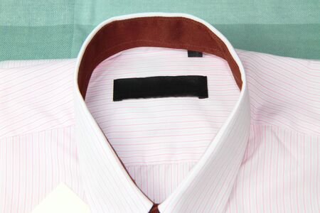pink stripes: New pink stripes shirt  with label