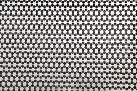 grid in honeycomb pattern photo