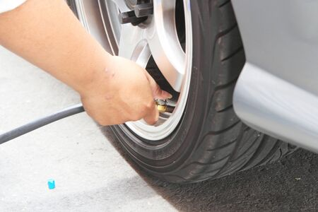 inflate: Inflate tires