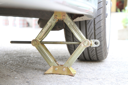 car jack Stock Photo