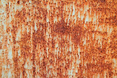 rust metal: rust on zinc