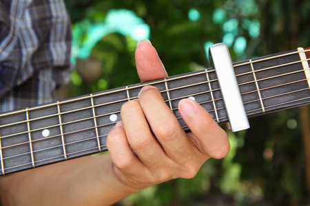 capo: play guitar with capo