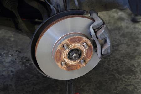 rebuild: disc brake after rebuild surface