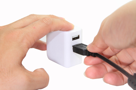 adapter: Connect the USB adapter