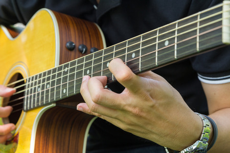 solo guitar in the park