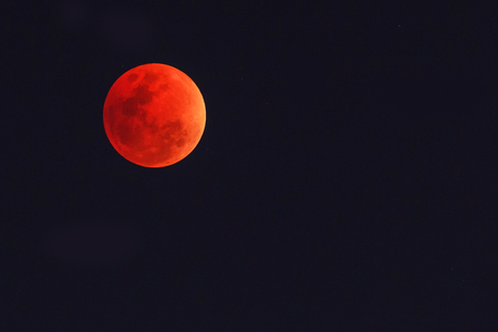 Blood Moon Stockfoto