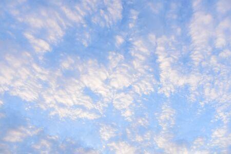 White cloud disappear in the hot sun on blue sky 版權商用圖片