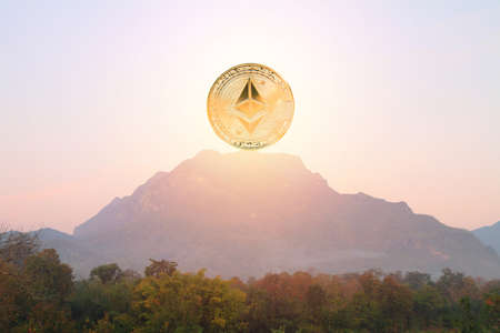 ethereum on high mountain like mean buy on top hill