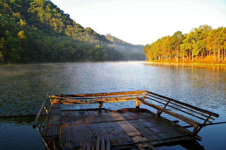 Morning time at national park pang oung Maehongson Province, North of Thailand Stock Photo - 16280287
