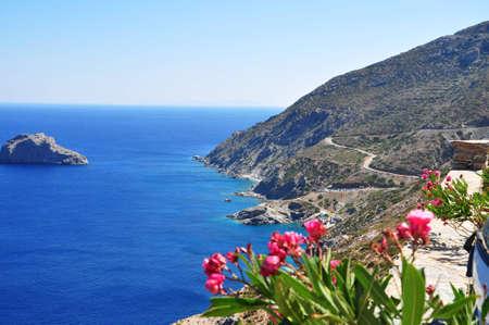 Amorgos Greece island